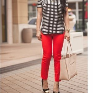 Michael Kors Red pants , perfect for your holidays